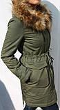 Куртка женская (парка) осень/весна. , фото 4