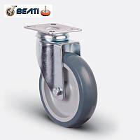 Колесо поворотное на термопластичной резине 125мм