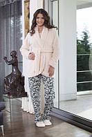 Пижама женская тройка со штанами Haus 4038 M