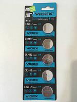 Батарейка VIDEX CR2032 5 шт.