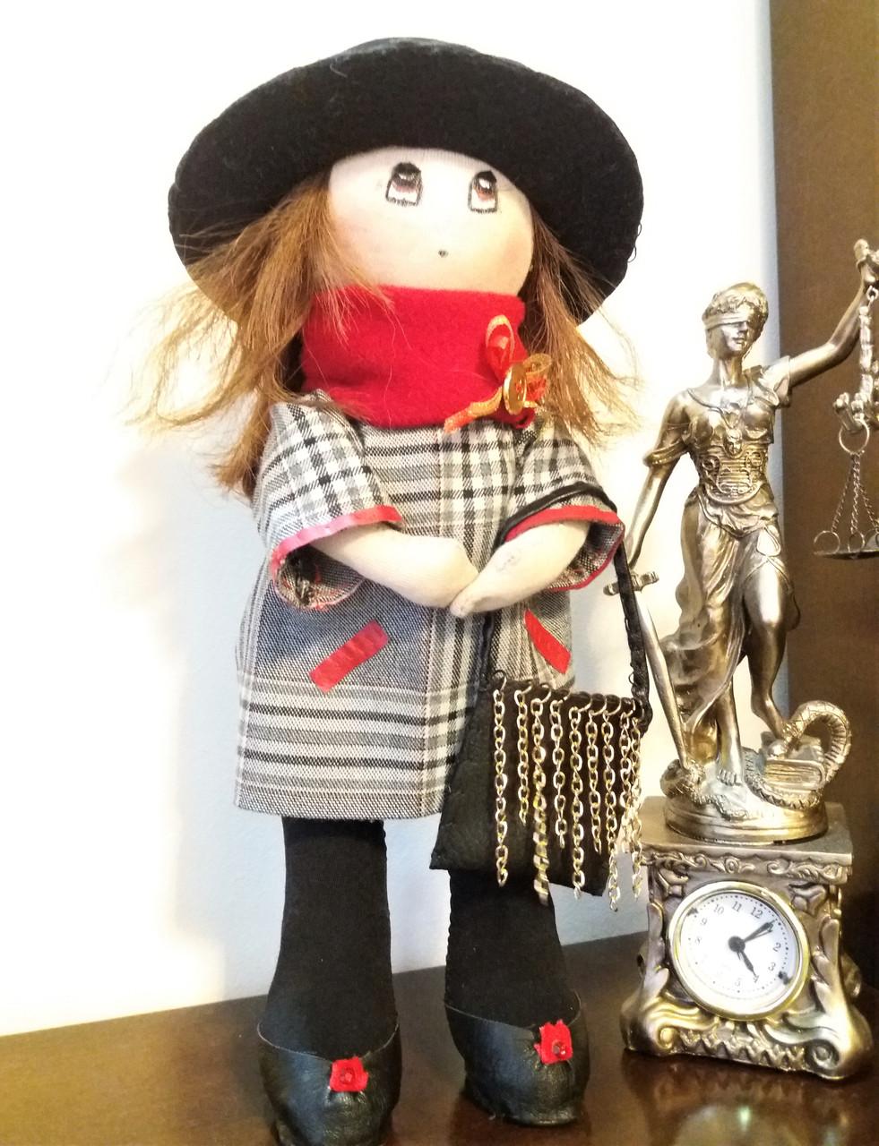 Авторская работа куколка Леди