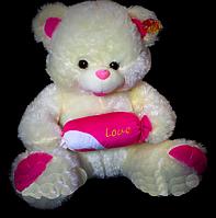 Очаровательный мягкий Мишка 60 см с конфеткой на день влюбленных 8 марта день рождение подарок девушке