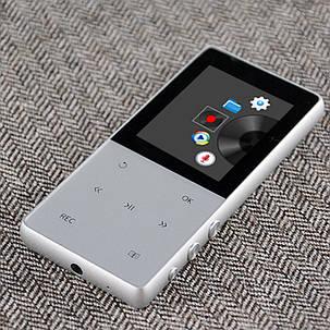 MP3 Плеер A6 Hi-Fi 8Gb Серебро, фото 2
