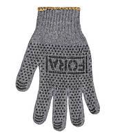 Рабочие перчатки хлопчатобумажные с ПВХ 7 класс Doloni FORA 15400