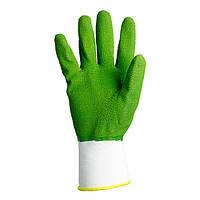 Рабочие перчатки нейлоновые с латексным покрытием Doloni 4526
