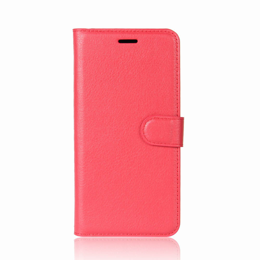 Чехол-книжка Bookmark для iPhone X red