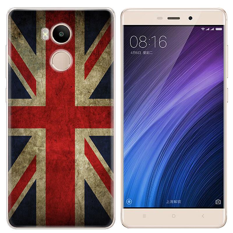 Чехол-накладка TPU Image British Flag для Xiaomi Redmi 4 Prime
