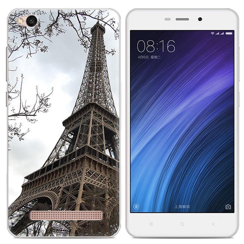 Чехол-накладка TPU Image Paris для Xiaomi Redmi 4A