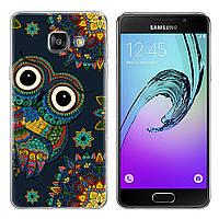 Чехол-накладка TPU Image Owl для Samsung Galaxy A3 2017/A320