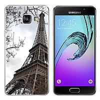 Чехол-накладка TPU Image Paris для Samsung Galaxy A3 2017/A320