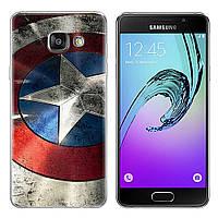 Чехол-накладка TPU Image Captain America для Samsung Galaxy A3 2017/A320