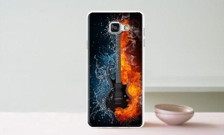 Чехол-накладка TPU Image Guitar для Samsung Galaxy A5 2016/A510