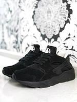 38 и 40 размеры (маломерки) - Зимние кроссовки Найк Huarache черные L20938