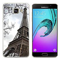 Чехол-накладка TPU Image Paris для Samsung Galaxy A7 2017/A720