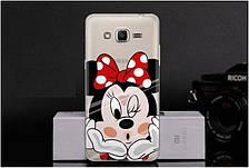 Чехол-накладка TPU Image Minnie для Samsung Galaxy J2 Prime/G532