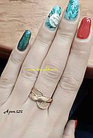 Золотое кольцо 585 пробы , арт 525