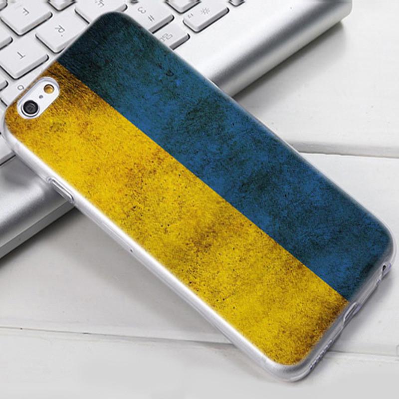 Чохол-накладка TPU Image Ukraine для iPhone 5/5S/5SE