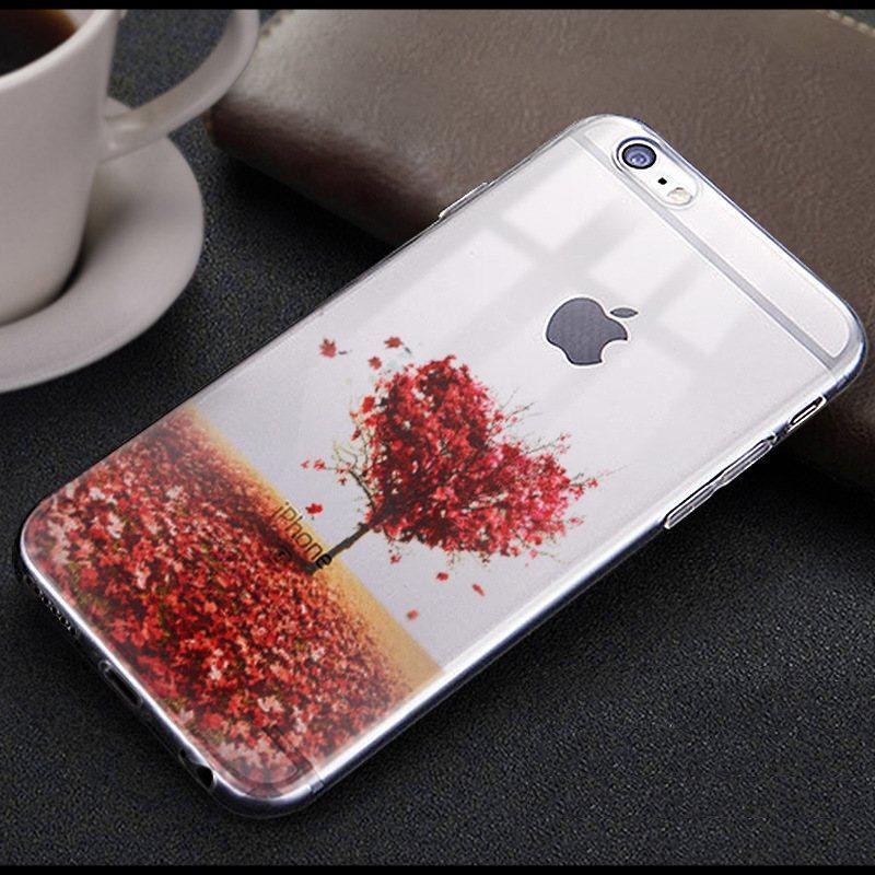 Чехол-накладка TPU Image Heart для iPhone 5/5S/5SE