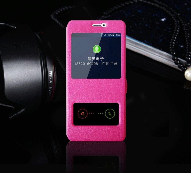 Чехол-книжка Holey для Meizu M3 Note pink