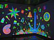 Флуоресцентная краска для стен Acmelight Fluorescent paint for Interior 0,25л, 0,5л, 1л, фото 4