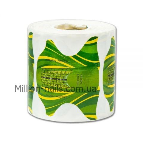 Новинка!Форма для наращивания ногтей(желто-зеленые) 500 штук