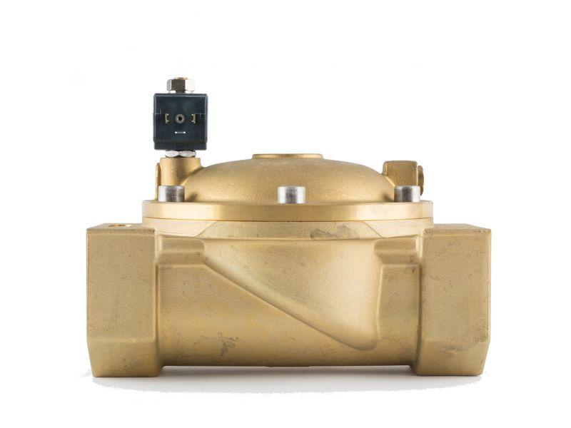 """Клапан 3"""", нормально-відкритий, 8721 NBR 230V 50 Hz, соленоїдний електромагнітний, CEME, Італія"""