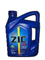 Масло моторное ZIC X5 10W-40 (Канистра 4л)
