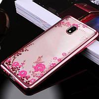 Чехол силиконовый TPU Glaze rose gold для Meizu Pro 6