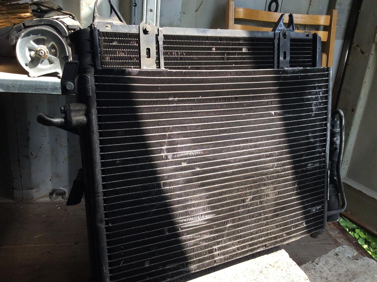 Радиатор Радиатор кондиционера Renault Kangoo Nissan Kubistar 1,9