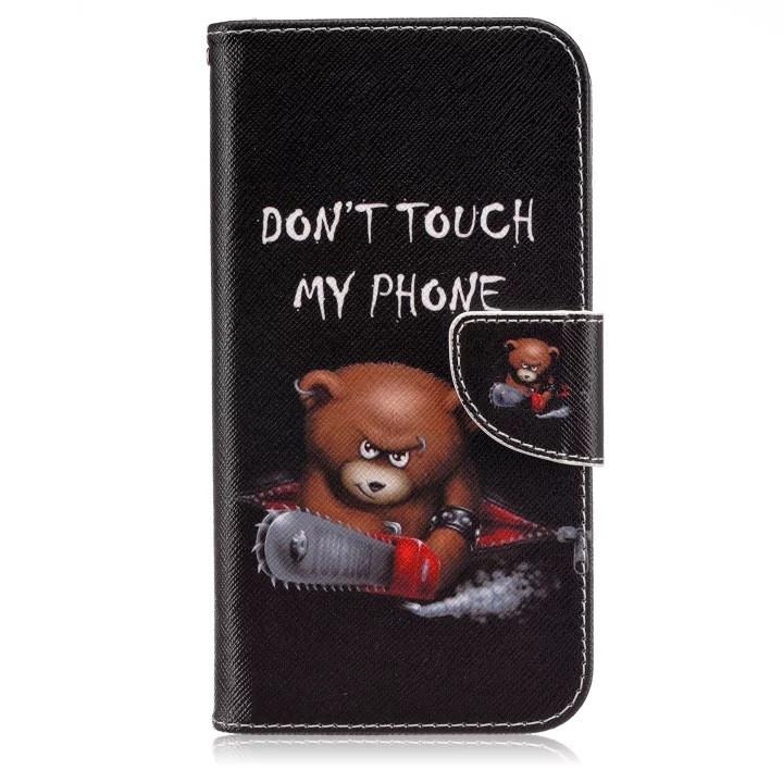 Чехол-книжка Artcase Don't touch для Samsung Galaxy A3 2016/A310