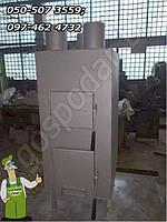 Печь буржуйка мощностью 20 кВт для отопления цеха, склада мастерской