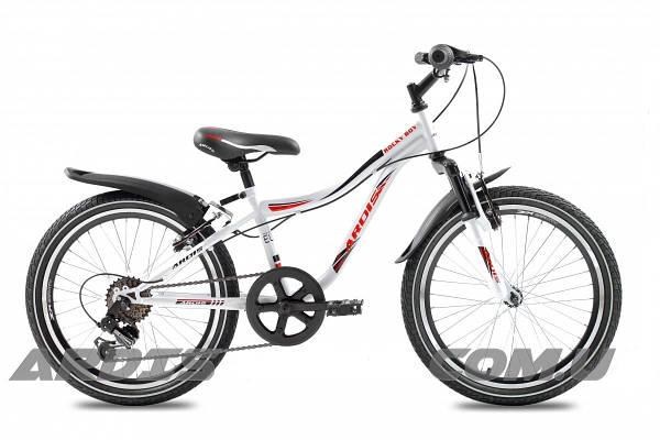 """Детский велосипед ARDIS ROCKY BOY MTB 20""""  Белый/Красный"""