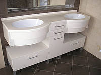 Столешница для ванной комнаты из искусственного камня LG HI-MACS
