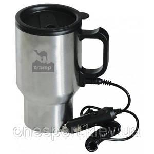 Термокружка Tramp Cup TRC-005 0,45 л автомобильная с подогревом (код 159-21679)
