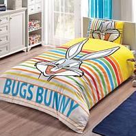 Постельное белье Tac Disney Bugs Bunny Striped 160*220 подростковое