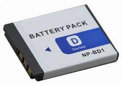 Батарея для Sony NP-BD1, NP-FD1, DSC-G3, DSC-T2, DSC-T70, DSC-T75, DSC-T77, DSC-T90, DSC-T200, DSC-T300