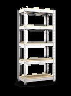 Стеллаж 1900х900х600, 5 полок МДФ/ДСП, 220 кг/полка, арт.2030 в гараж офис дом склад балкон архив