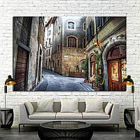 Картина - дворик в Италии, Флоренция