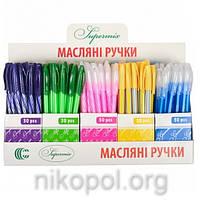 "Ручка масляная ""Супермикс"" ""С"" CR8012 синяя"