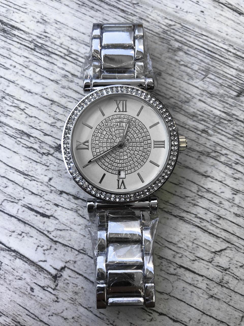 5f5e27b0ce51 Женские наручные серебряные часы с камнями MICHAEL KORS - ЛАВКА ХОББИТА в  Одессе