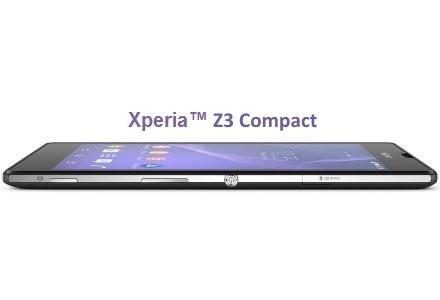 Стали відомі характеристики Sony Xperia Z3 і Z3 Compact
