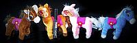 Лошадка 15 см маленькая мягкая игрушка детские игрушки