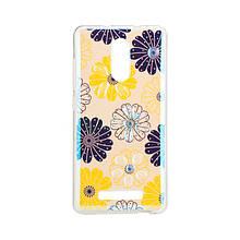 Чехол накладка силиконовый Remax Light для Samsung J330 J3 2017 Flowers Dream
