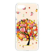 Чехол накладка силиконовый Remax Light для Samsung J330 J3 2017 Fruit Tree