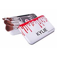 Набір професійних пензликів Kylie (Кайлі) 12в1 Professional Brush Set, фото 1