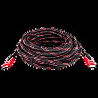 Кабель HDMI-HDMI 10,0м, Ver 1,4 for 3D, доп. оплетка