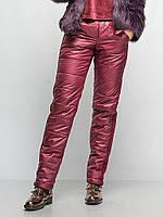 Брюки женские теплые 915, зимние женские штаны брюки, брюки из плащевки утепленные, дропшиппинг