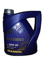 Масло моторное Mannol STAHLSYNT DEFENDER 4L SAE 10W-40 API SL/CF полу-синтетика