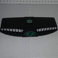Дефлектор капота воздухозаборник пара 2 шт ВАЗ 2101 2102 2103 2104 2105 2106 2107 Inter Plast зеленый значок
