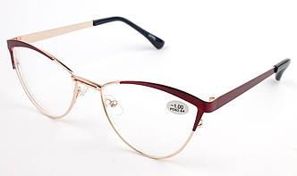 Женские очки для зрения бабочка m/01